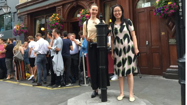 Jocelyn Chan and Eleanor Neal: awarded Early Career Travel Awards from the Australian Epidemiological Association