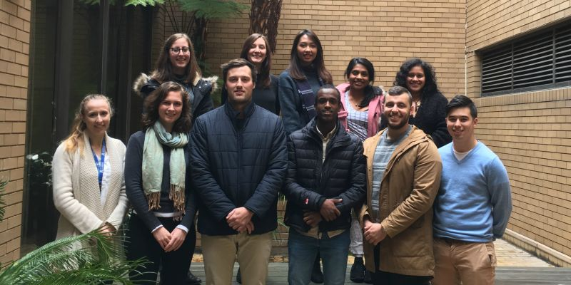 Our new Honours Research Students