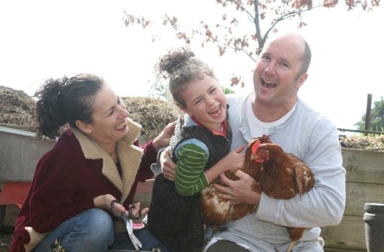 Dr Greg Coates and family