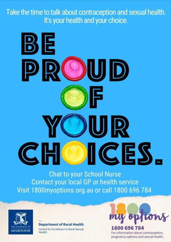 Be Proud of Your Choices - School Nurse Specific