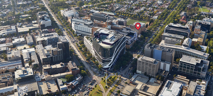 Melbourne world-class biomedical precinct is located in Parkville - Photo by Peter Bennetts
