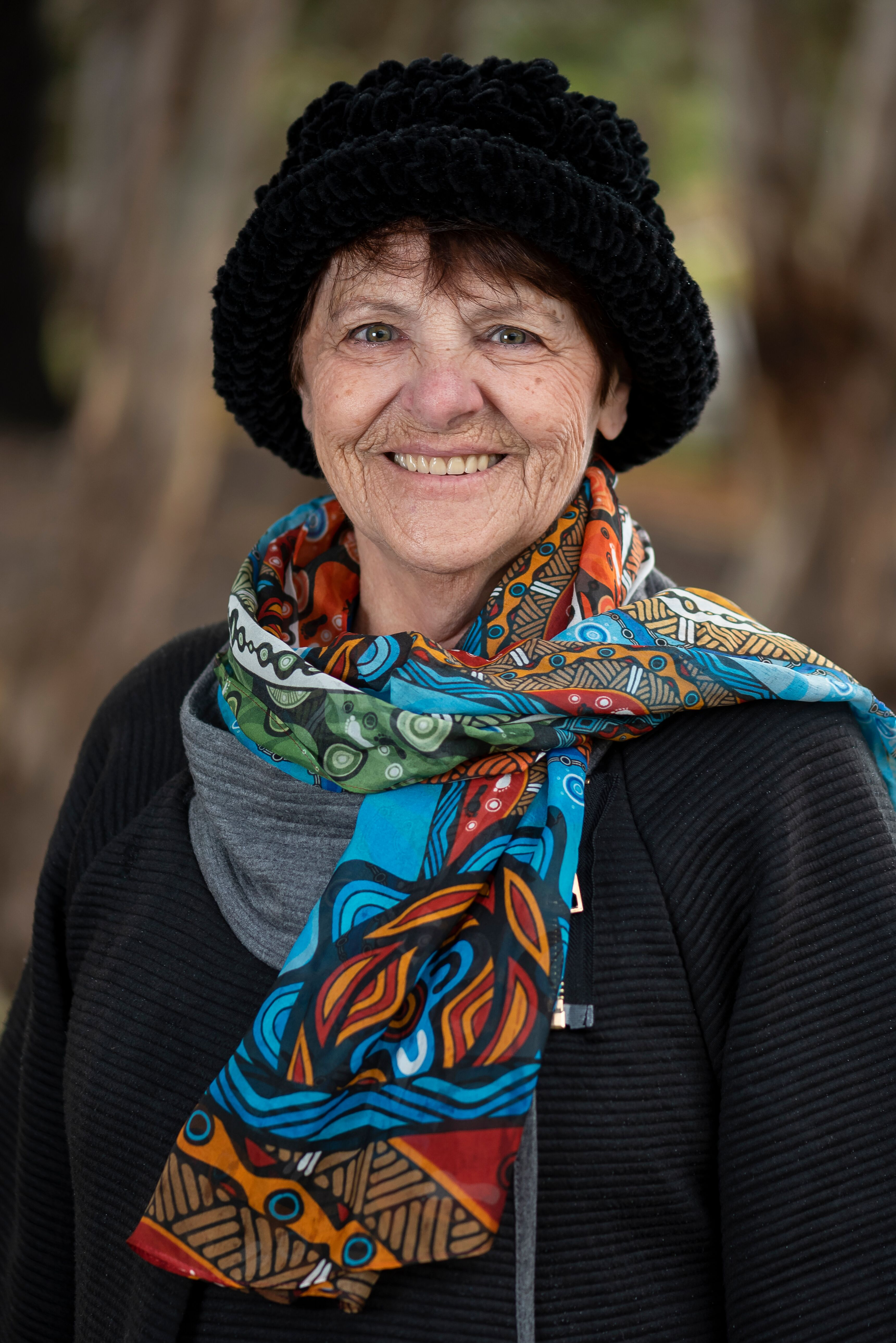 Aunty Margaret Clarke, member of the Let's CHAT Dementia Indigenous Reference Group