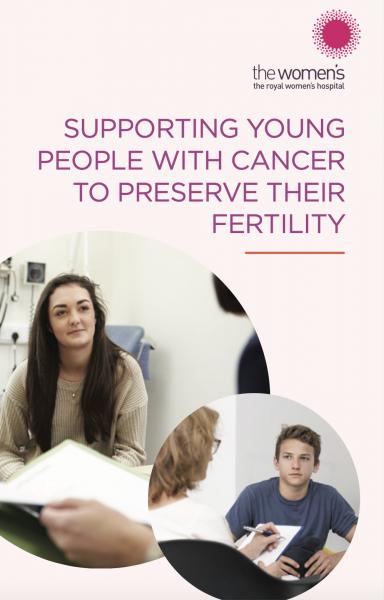 Fertility preservation message
