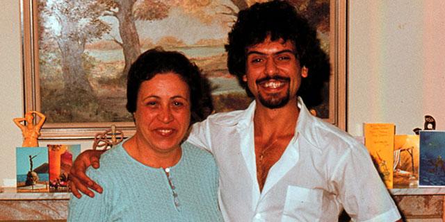 Prof Pantelis with aunt