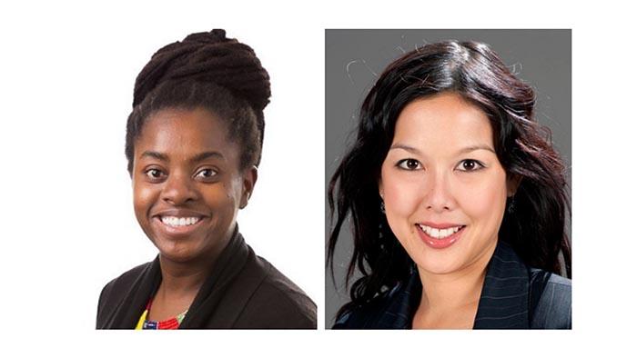 STEM superstars Dr Kudzai Kanhutu and Dr Anita Goh